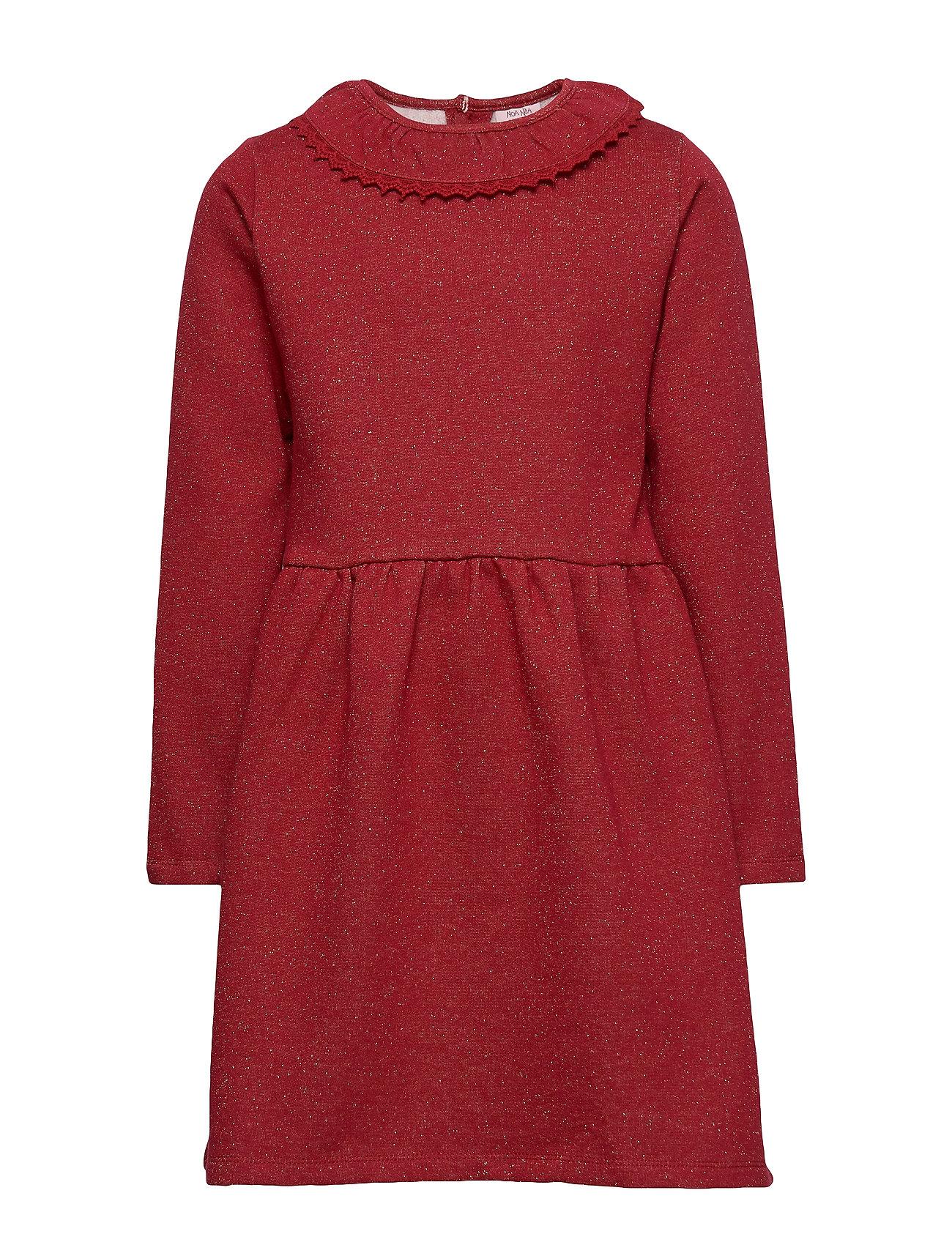 Noa Noa Miniature Dress long sleeve - RED DAHLIA