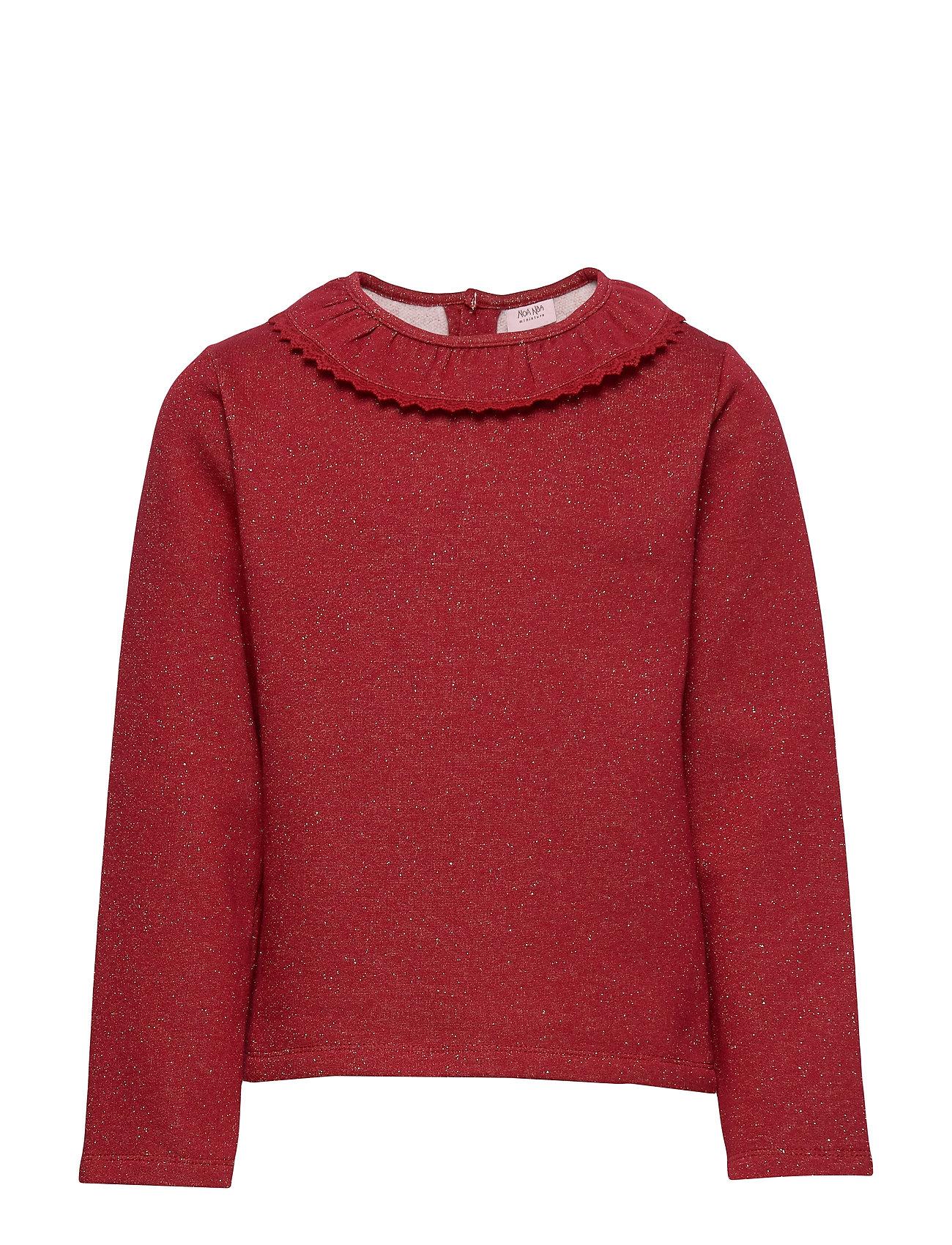 Noa Noa Miniature Sweatshirt - RED DAHLIA