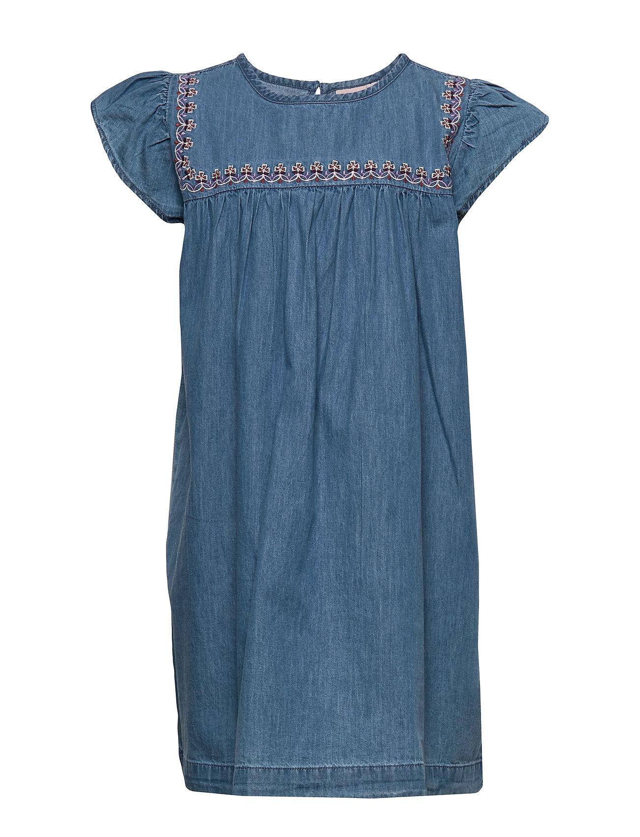 Image of Dress Short Sleeve Kjole Blå Noa Noa Miniature (3406255095)