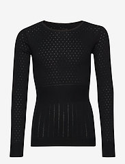 Noa Noa Miniature - T-shirt - long-sleeved t-shirts - black - 0