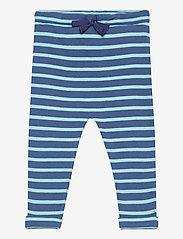 Noa Noa Miniature - Trousers - trousers - art blue - 0
