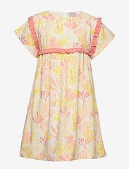Noa Noa Miniature - Dress short sleeve - dresses - whisper white - 0