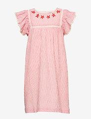 Noa Noa Miniature - Dress short sleeve - jurken - paprika - 0