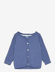Noa Noa Miniature - Cardigan - gilets - bijou blue - 0