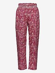 Noa Noa Miniature - Trousers - trousers - print rosa - 0