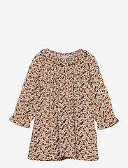 Noa Noa Miniature - Dress long sleeve - kleider - print yellow - 0
