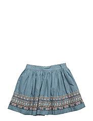 Skirt - STONE BLUE