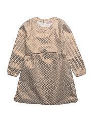 Dress long sleeve - CHALK