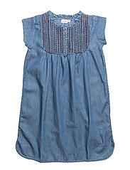 Dress short sleeve - DENIM BLUE
