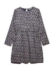 Dress long sleeve - VINTAGE INDIGO