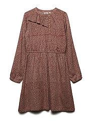 Dress long sleeve - FAWN