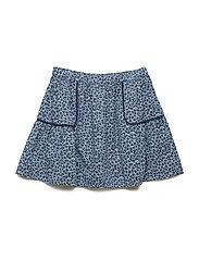 Skirt - BLUE SHADOW