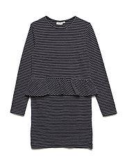 Dress long sleeve - BLACK
