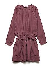 Dress long sleeve - CRUSHED VIOLETS