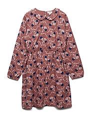 Dress long sleeve - WINTER ROSE