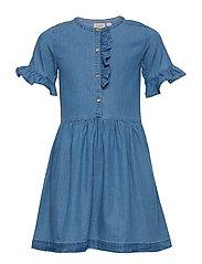 Dress short sleeve - NAVY PEONY