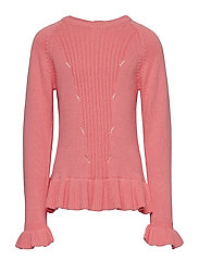 Pullover - SALMON ROSE