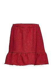 Noa Noa Miniature Skirt - RED DAHLIA