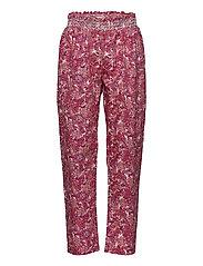 Trousers - PRINT ROSA