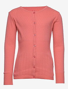 Cardigan - cardigans - shell pink