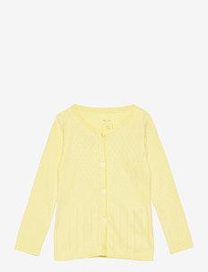 Cardigan - gilets - lemon grass