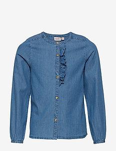 Shirt - NAVY PEONY
