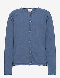 Cardigan - bluser & tunikaer - moonlight blue