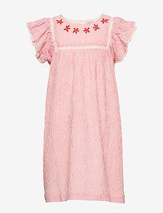 Dress short sleeve - dresses - paprika