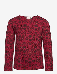 T-shirt - long-sleeved t-shirts - print red