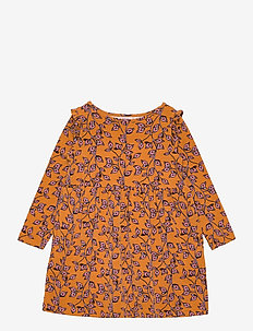 Dress long sleeve - kleider - print multicolour