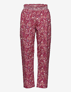 Trousers - trousers - print rosa