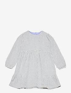 Dress long sleeve - kleider - art blue