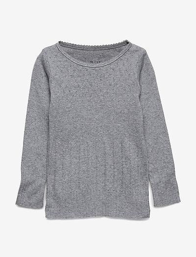 T-shirt - t-shirts - grey melange