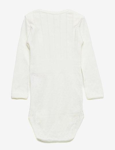 Baby Body - long-sleeved - chalk