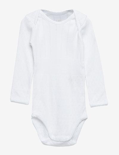 Baby Body - long-sleeved - white