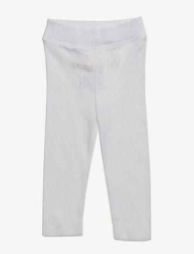 Leggings - leggings - white