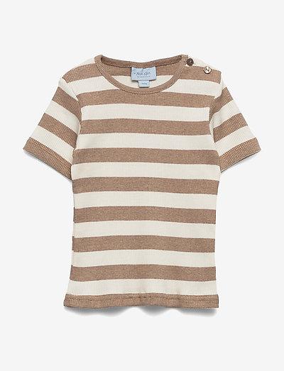 T-shirt - short-sleeved - natural