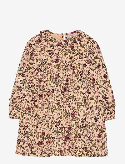 Dress long sleeve - dresses & skirts - print multicolour