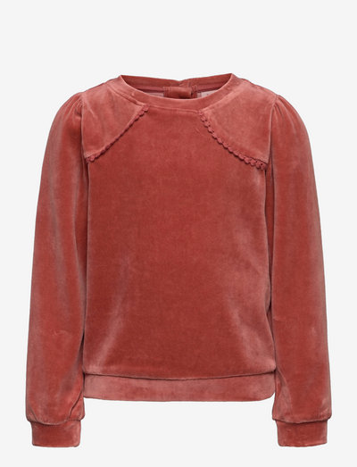 Sweatshirt - sweatshirts - old rose
