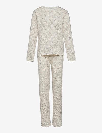Sleepwear - pyjamas - print off white