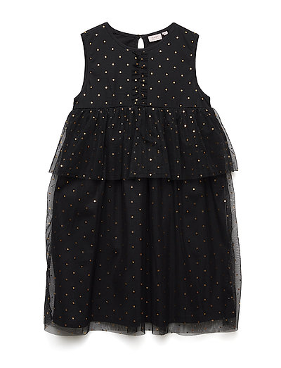 Dress sleeveless - BLACK