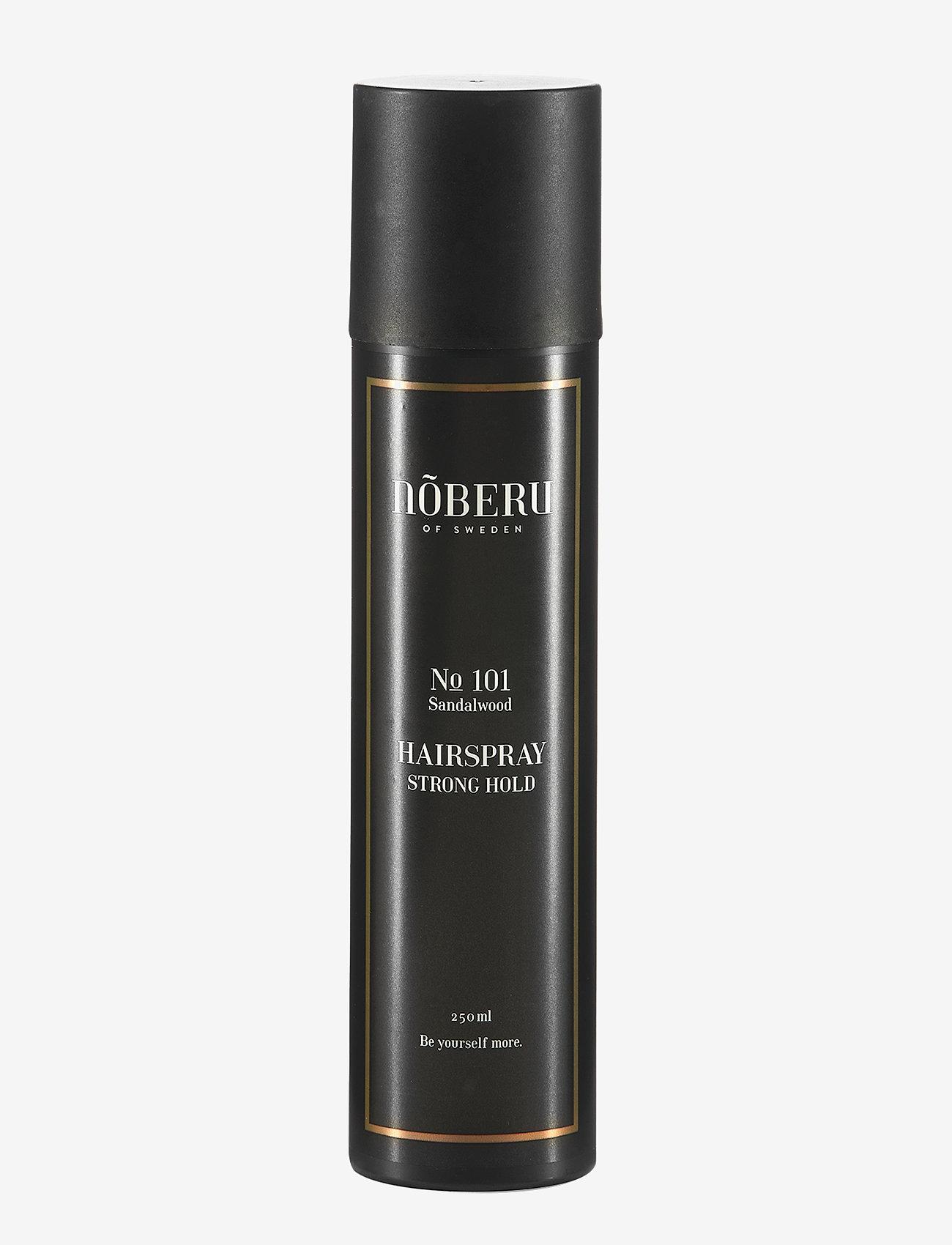 Nõberu - Nõberu Hairspray - Strong Hold - spray - sandalwood - 0