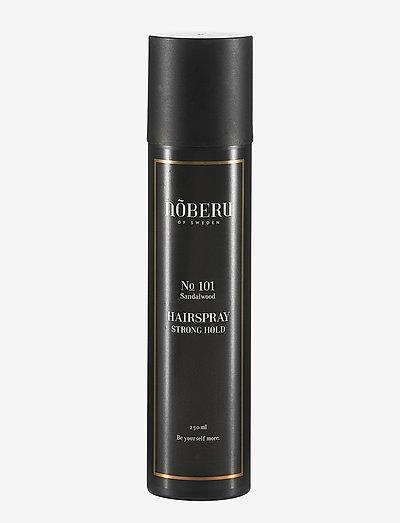Nõberu Hairspray - Strong Hold - spray - sandalwood