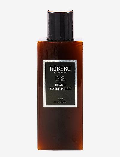 Nõberu Beard Conditioner - Amber-Lime - skjegg & bart - amber lime