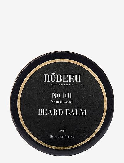 Nõberu Beard Balm - Sandalwood - skägg & mustasch - sandalwood