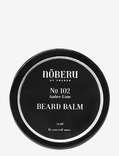 Nõberu Beard Balm - Amber-Lime - skägg & mustasch - amber lime