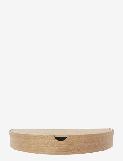 Hide Away shelf - hyllor - oak / sand