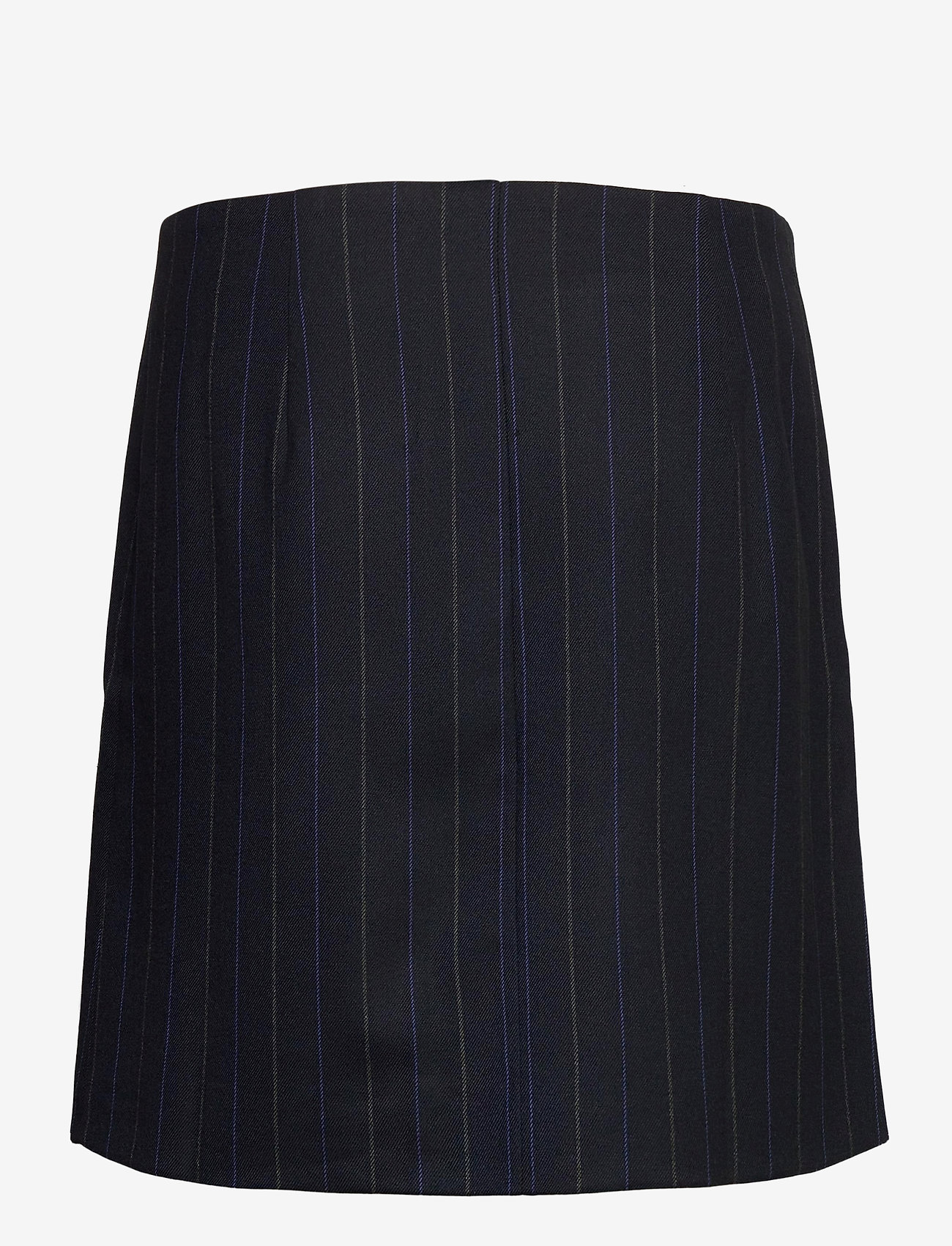 NORR - Jody skirt - korta kjolar - navy pinstripe - 1