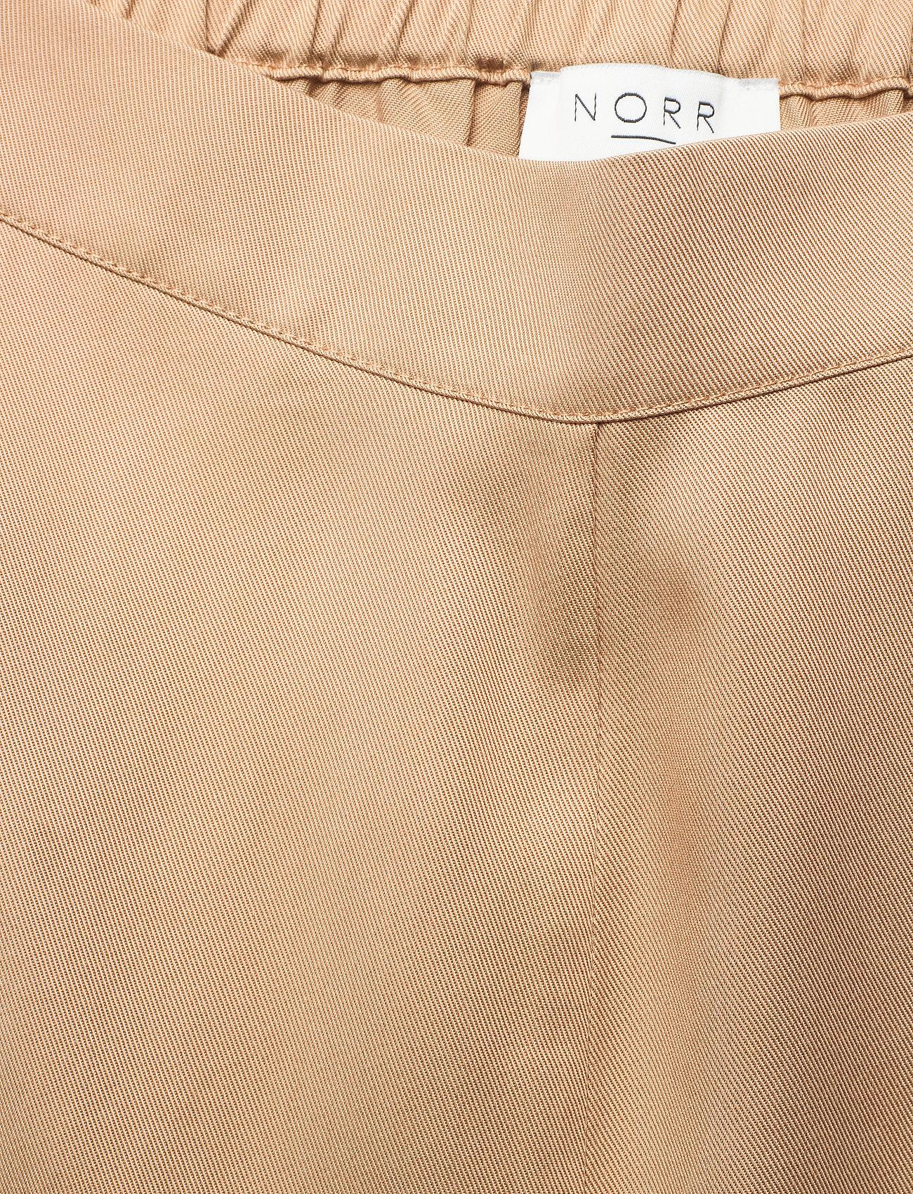 NORR - Jade pants - wide leg trousers - beige - 3