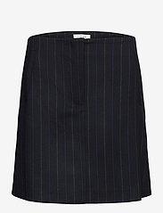 NORR - Jody skirt - korta kjolar - navy pinstripe - 0